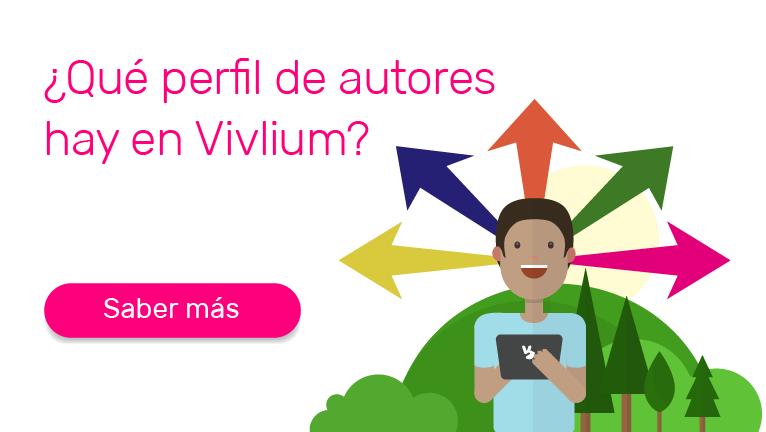 ¿Qué perfil de Autores hay en Vivlium?